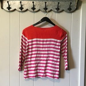 Fun JCrew Top, 3/4 sleeve size 4
